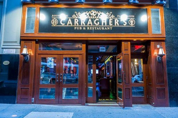 Carragher hits the Big Apple