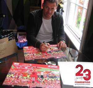 New Liverpool Limited Edition Jamie Carragher Signiert Istanbul drucken