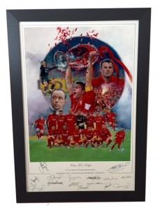 ISTANBUL 2005 – Squad Signed Limited Edition Print – OURS FOR KEEPS!