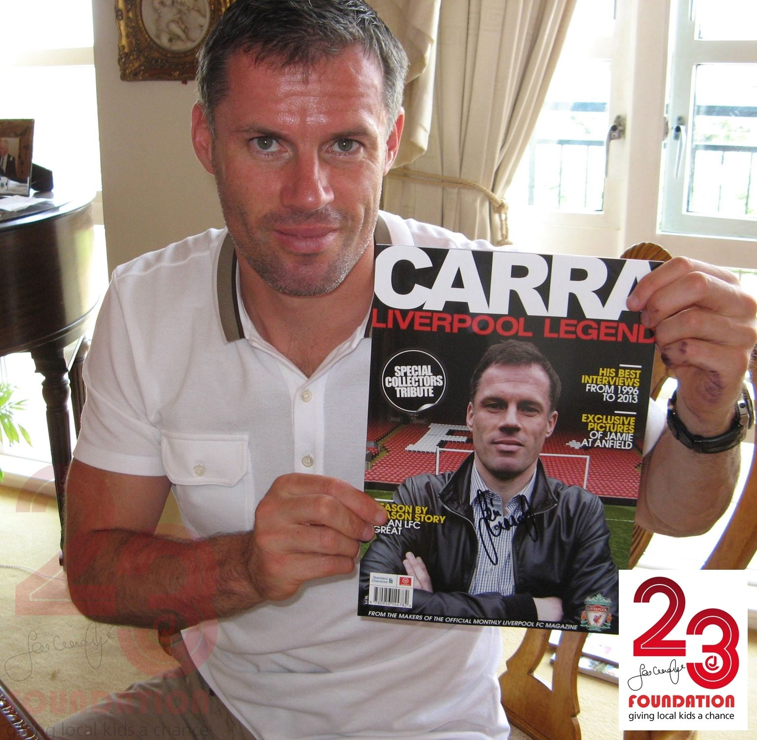 Carragher Signed 'Special Collectors Tribute' …