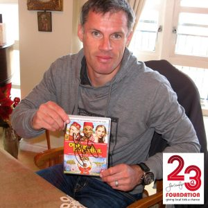 """One Night In Istanbul' Brand New DVD signeret af Jamie Carragher"