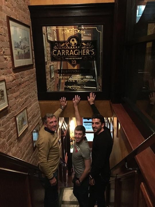 Alan Kennedy visits Carraghers – New York!