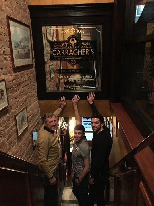 Alan Kennedy visits Carraghers – New York!