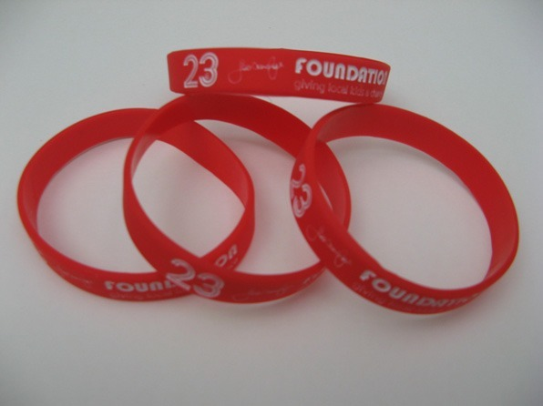 Show off your 23 Foundation wrist bands …