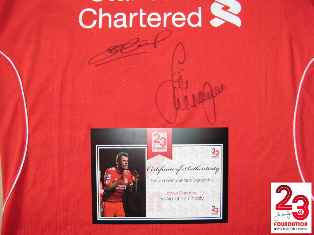 332d557f8 Jamie Carragher 23 Foundation » Jamie Carragher   Steven Gerrard ...
