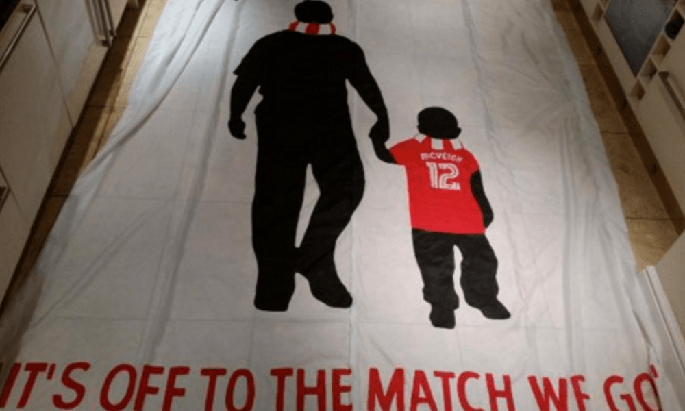 Special flag to make its debut on the Kop tonight …