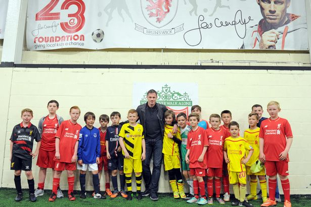 Jamie Carragher Football Academy in Preston