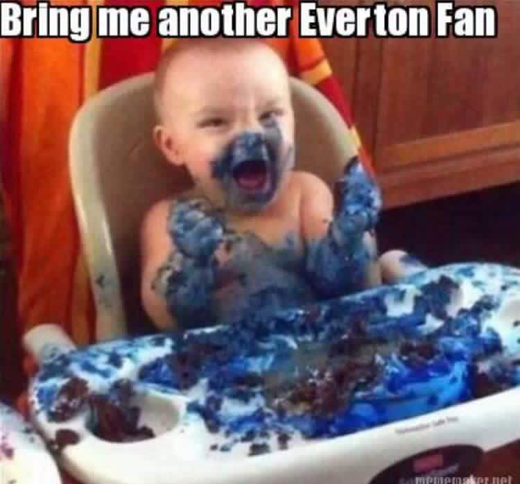 Bring me another Everton Fan …..