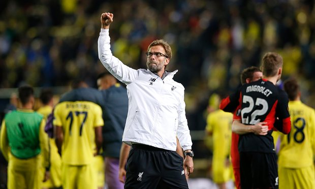 Europa League Klopp Finalists ….