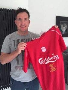 Signed Limited Edition Robbie Fowler 'Honours' Shirts