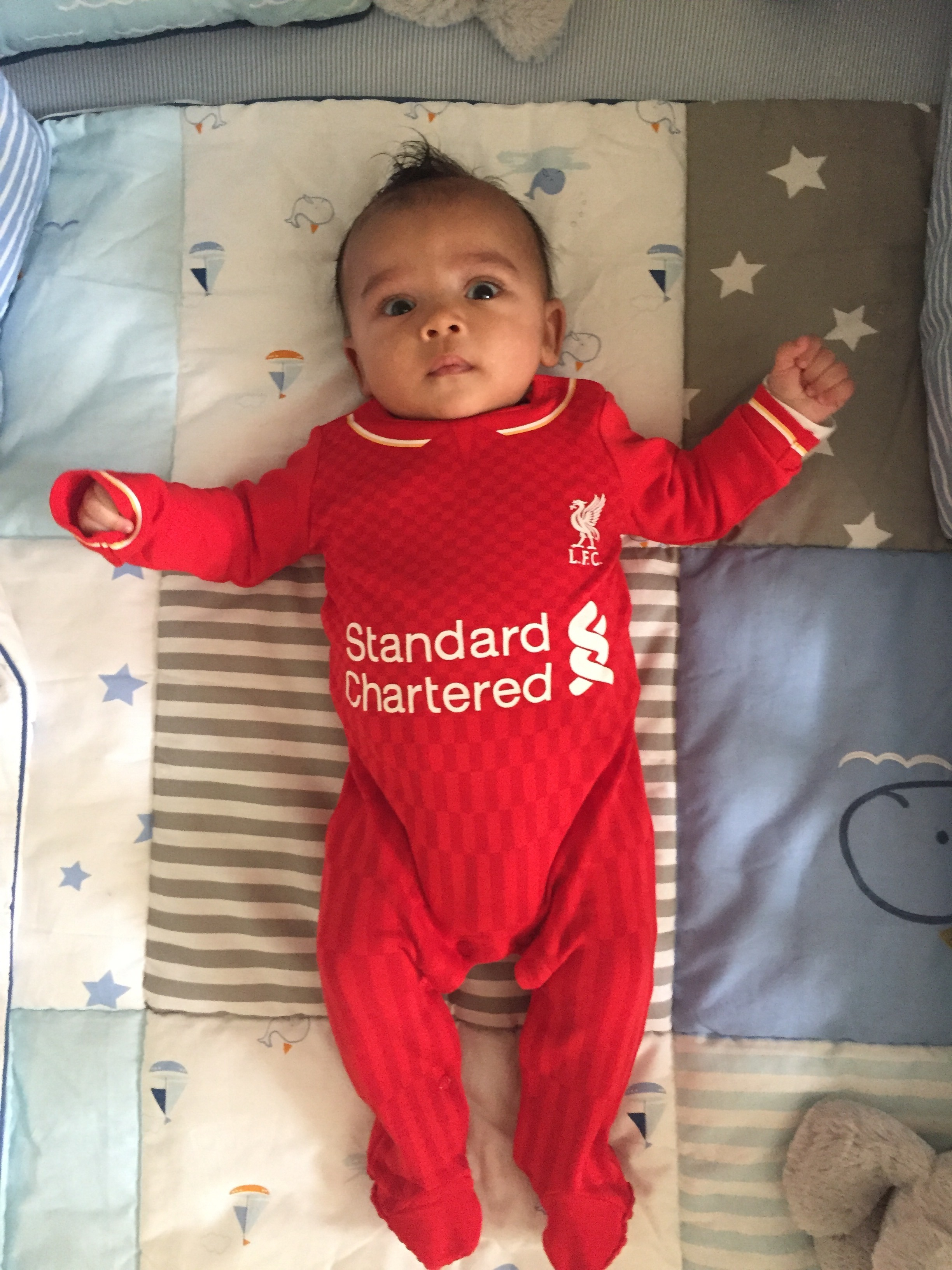 Welcome to the Anfield Family Joshua ….