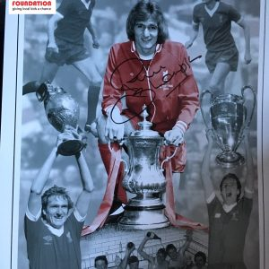 Phil Thompson Signed Montage