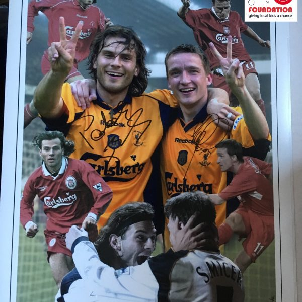 Vladimir Smicer and Patrick Berger Signed Montage