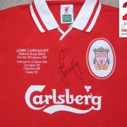 Jamie Carragher Signed Debut Shirt