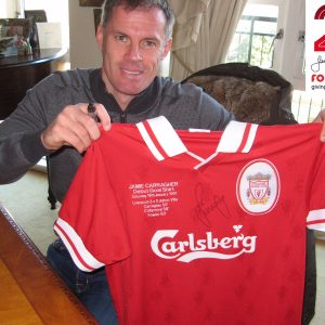 jamie-carragher-signed-debut-shirt