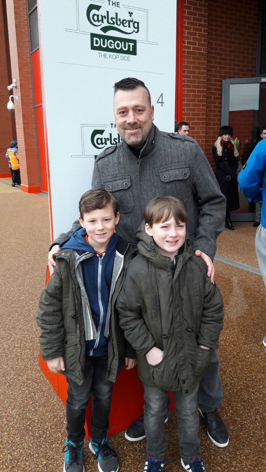 Ethan, Freddie & Dad Keith v Wolves