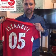2005 Champions League Istanbul signed shirt