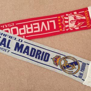 Liverpool Legends v Real Madrid Legends Scarf
