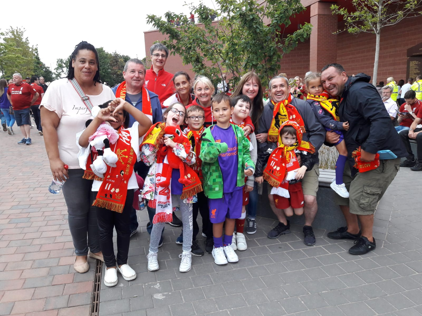 Millstead School's Visit To Anfield
