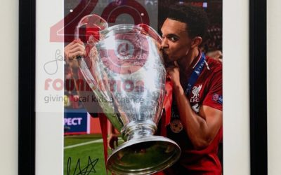 Newsflash: Signed Trent Alexander- Arnold Photo Now In Stock …